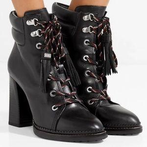 Sam Edelman Sondra Leather Black Ankle boot heels